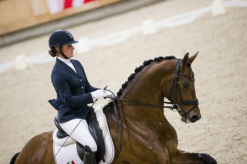 3e plaats voor Jonna en Grand Charmeur op Prix St Georges