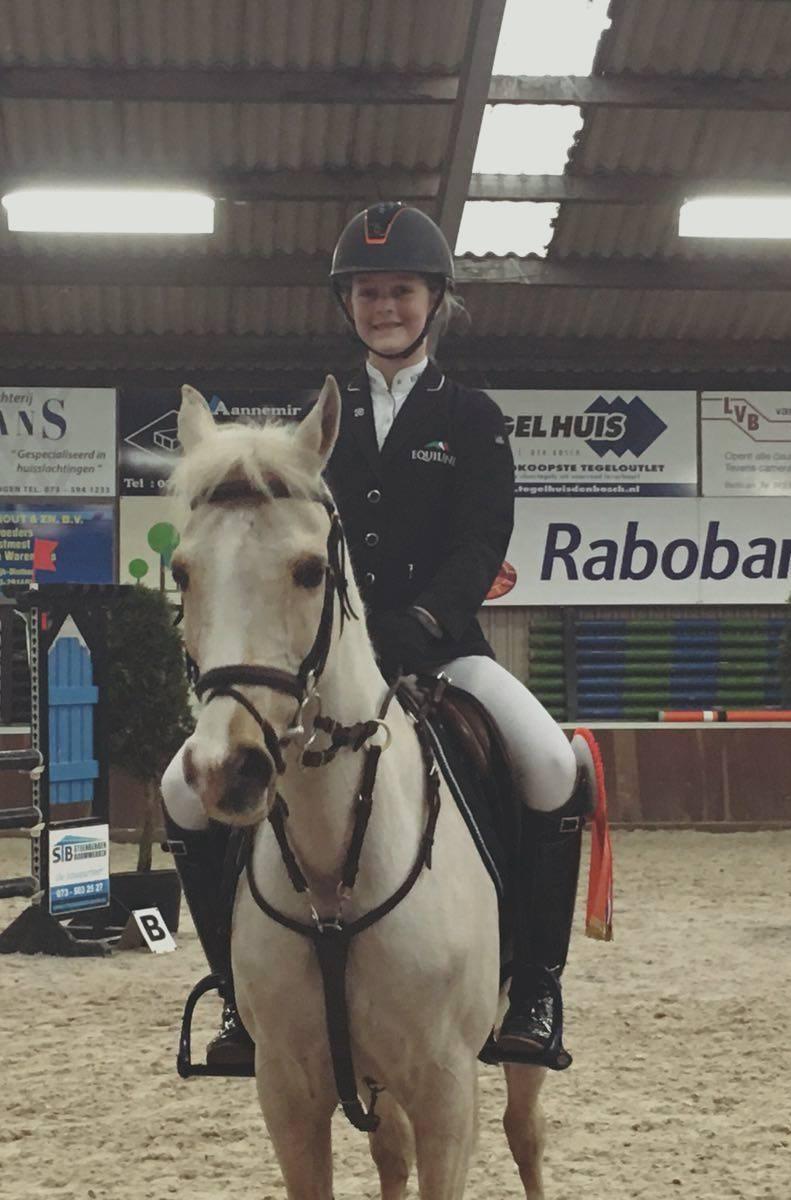 Micky en Jolina worden kringkampioen in Berlicum