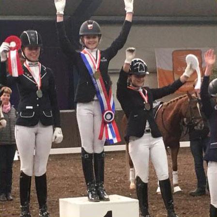 Micky Brabants kampioen in M2 en Amber reservekampioen van Brabant in M1