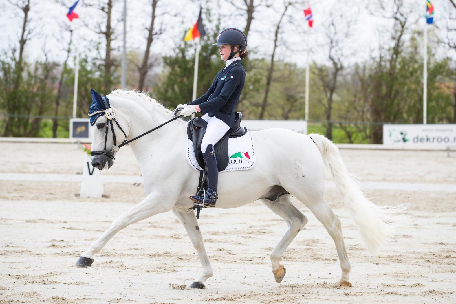 Micky Schelstraete grijpt zege in landenproef pony's
