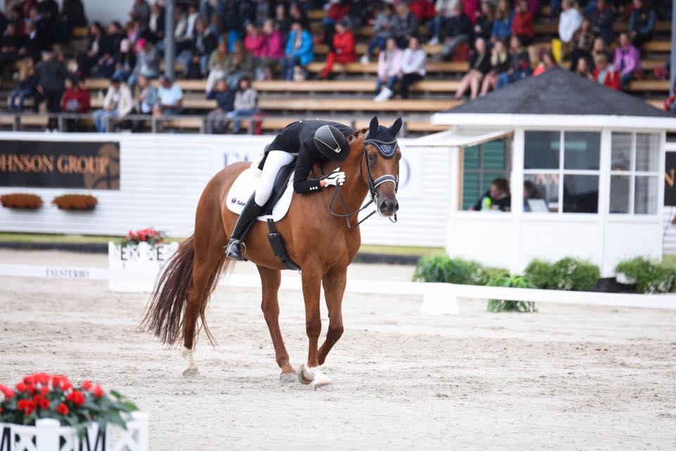 Sofie Andersson and CSI geselecteerd voor het Europees Kampioenschap in Roosendaal