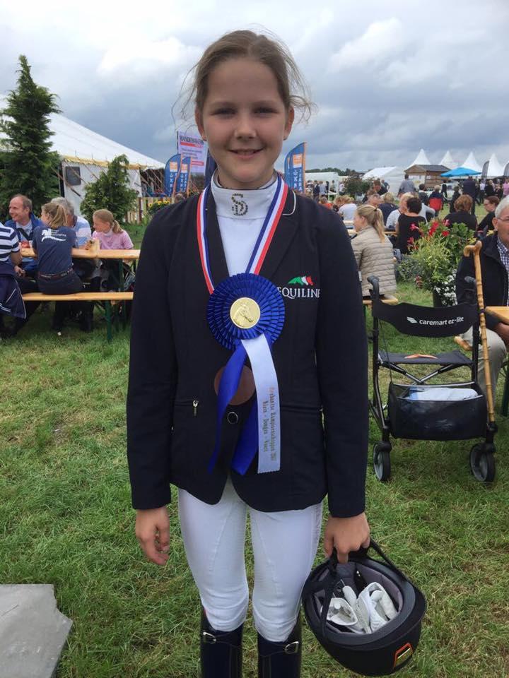 4e plaats voor Amber en Onyx op Brabantse Kampioenschappen