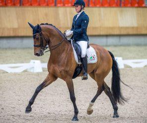 Jonna Schelstraete met Grand-Charmeur.Foto: Arnd Bronkhorst / www.arnd.nl