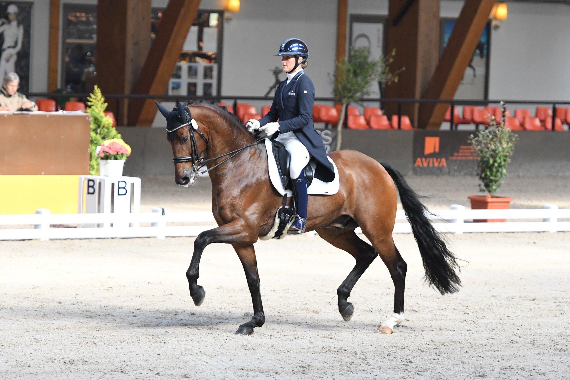 Opnieuw succes voor Jonna Schelstraete met Grand-Charmeur en CSI
