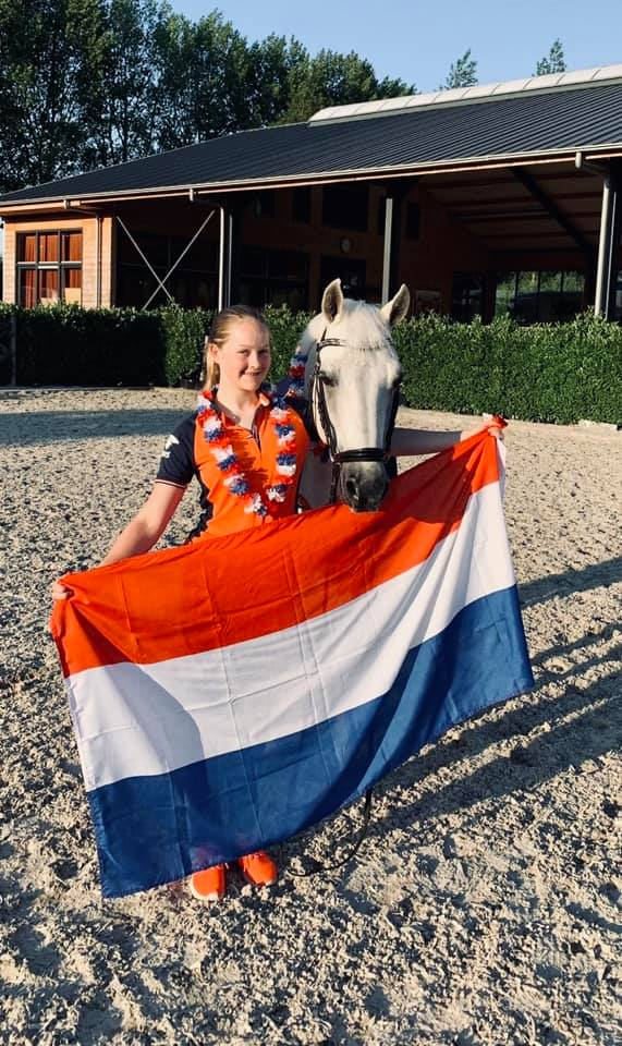 *video* MEET THE DUTCH DRESSAGE PONY TEAM – EUROPEAN CHAMPIONSHIPS 2019