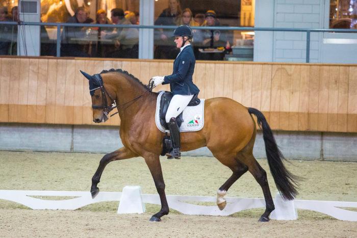 Jonna Schelstraete van den Ham - Grand Charmeur KNHS Indoorkampioenschappen 2018 © DigiShots
